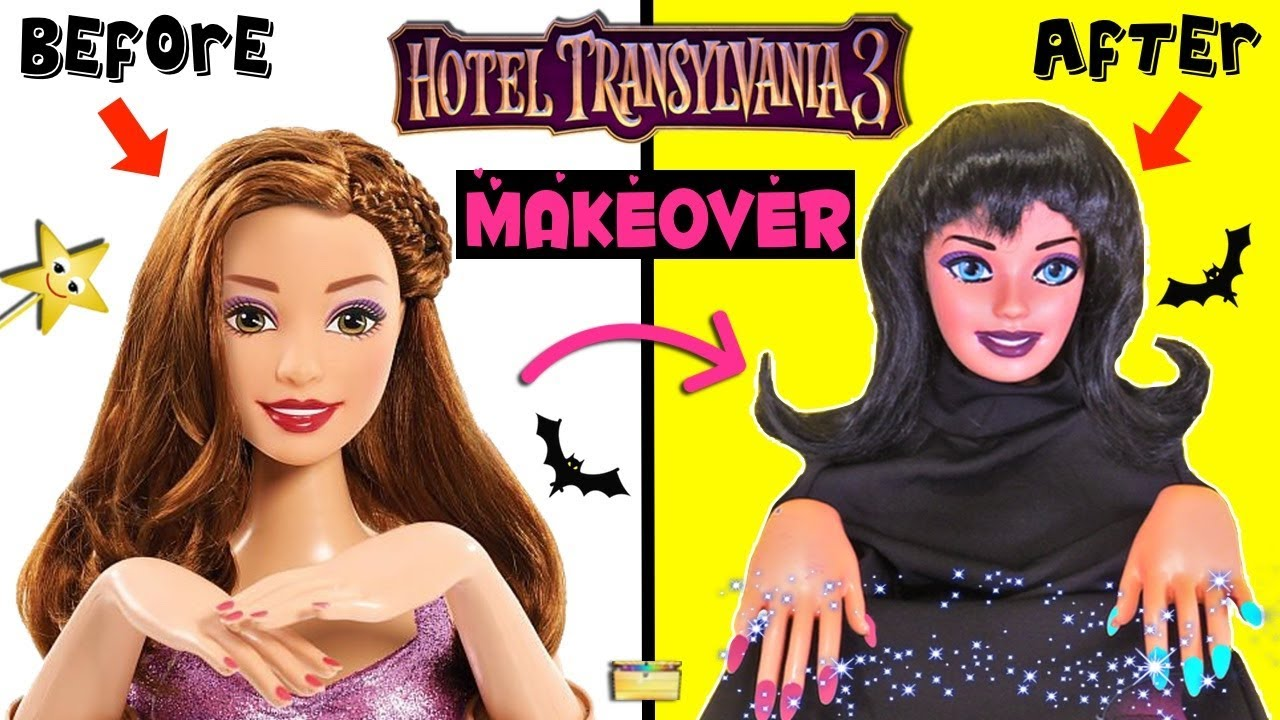 biggest discount best best value HOTEL TRANSYLVANIA 3 Mavis Gets MAKEOVER + Nail Polish with Stickers +  Surprise Toys