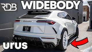 #RDBLA WORLDS FIRST & 2ND REAL WIDEBODY LAMBORGHINI URUS'S.
