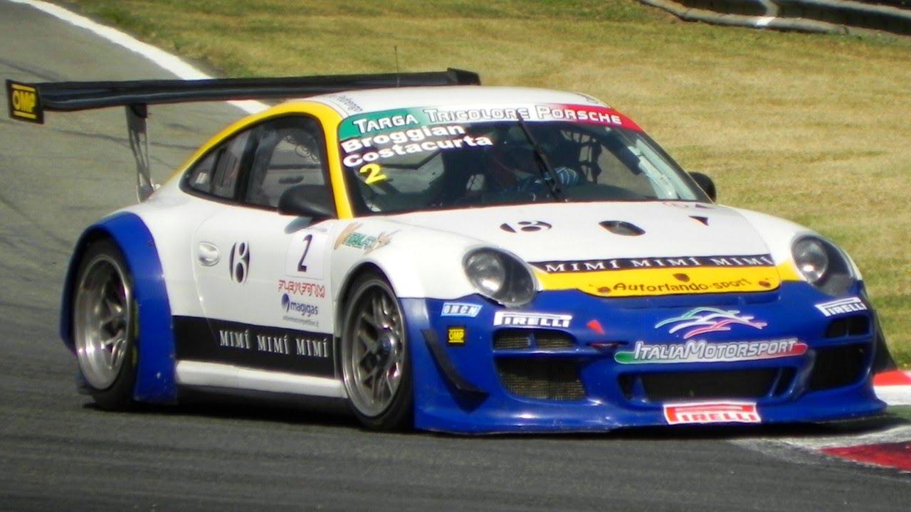 Porsche 997 gt3 rsr gt3 r sound in action on the track