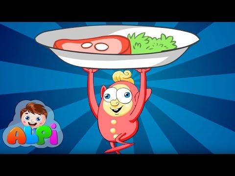 Çımçıtak | Çocuklar İçin Yemek Şarkısı