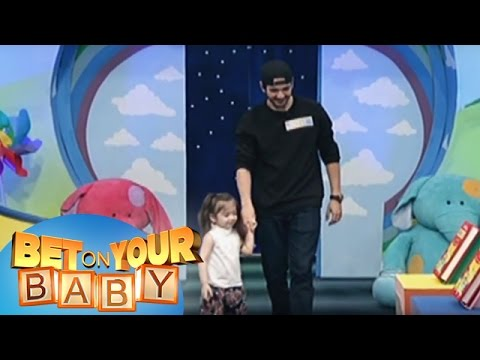 Bet On Your Baby: Baby Dome Challenge with Daddy Matt and Baby Marley