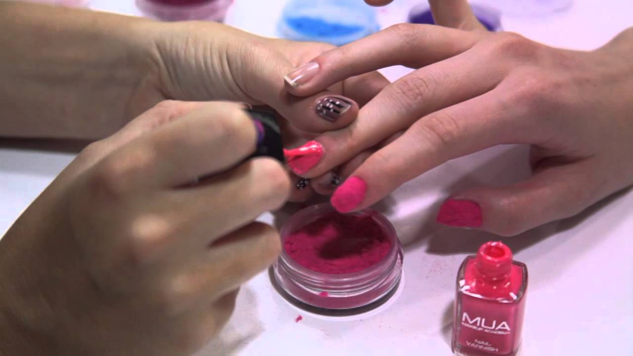 How To: Fur Effect Nails Tutorial - YouTube