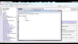 GUI Overview - Java