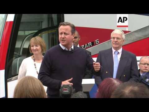 Cameron: UK stronger, safer, better off