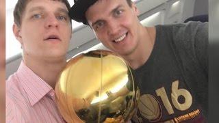 Два российских баскетболиста впервые стали чемпионами НБА
