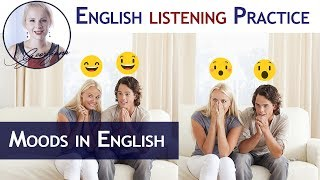 #055 English Lesson - Moods and Feelings in English - part ll