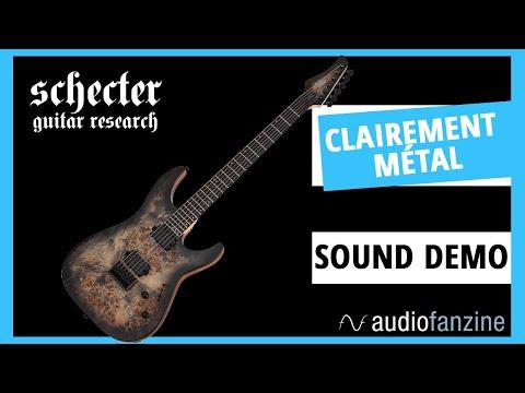 Schecter, c'est si pro ? - Test de la C-6 Pro Charcoal Burst 1 (Sound Only)