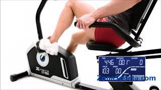 Горизонтальный велотренажер Xterra SB150. Общий обзор