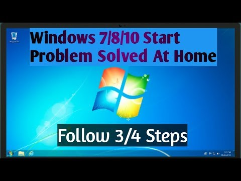 How To Fix Windows 7 Windows 8 And Windows 10 Start And Hang Problem At Home#Technonir