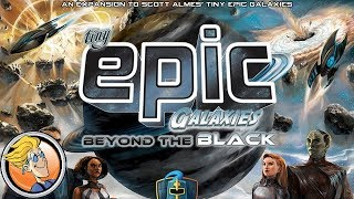 Tiny Epic Galaxies: Beyond the Black — game preview at Origins Game Fair 2017