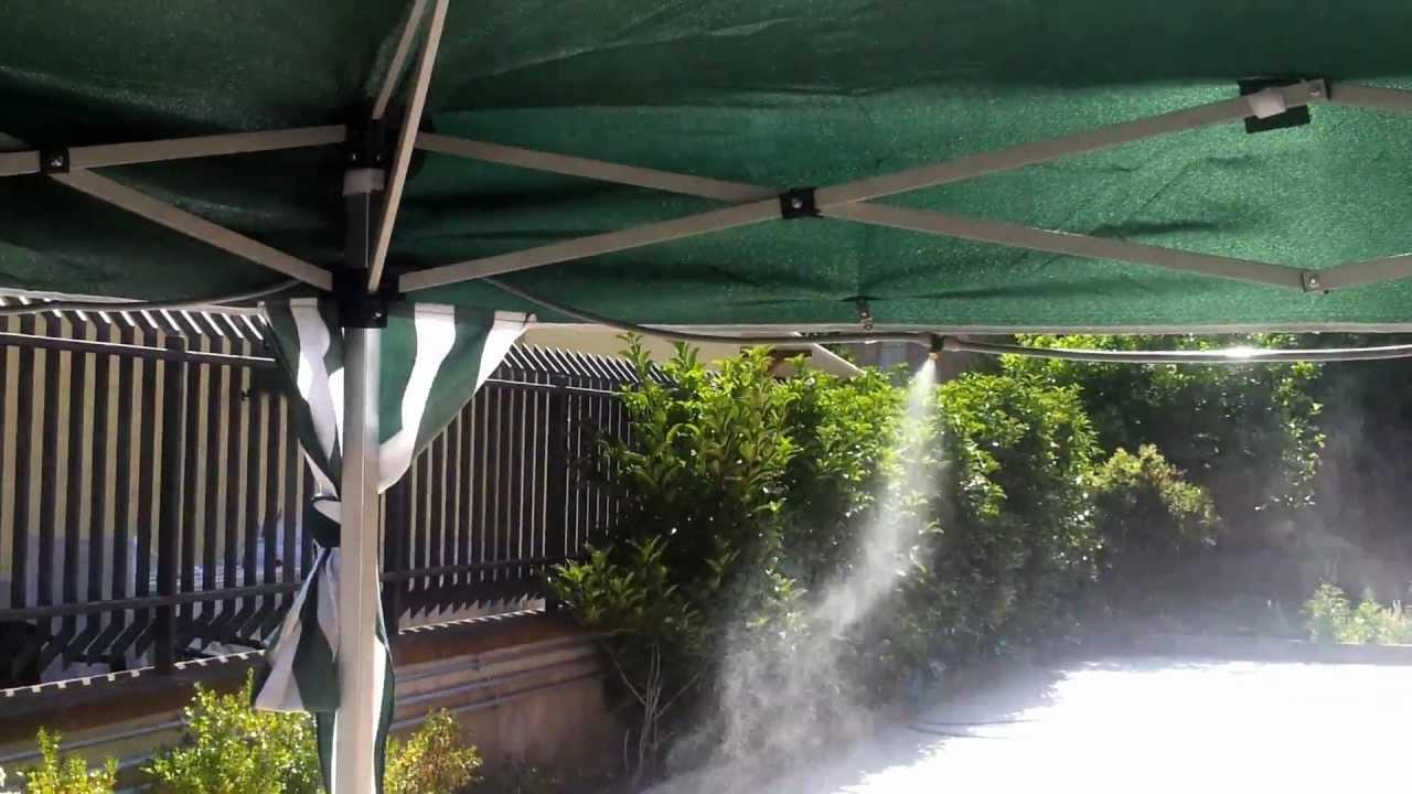 Nebulizzatore acqua faidate effetto nebbia kit nebulizzazione