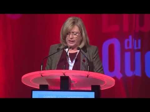 Allocution d'ouverture de Francine Charbonneau