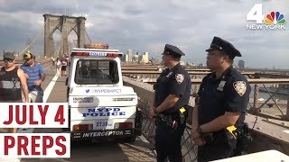 An Exclusive Look at How the NYPD Will Keep July 4 Safe   NBC New York