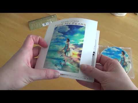 """Face My Fears"" Hikaru Utada's CD Single Unboxing Mp3"