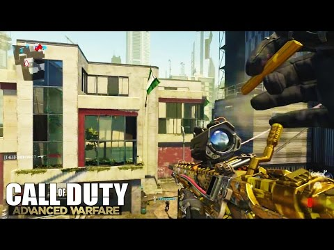 Advanced Warfare Call Of Duty!!! - Try Harding & RAGING COD AW - Champion Skin Gameplay XBOX One