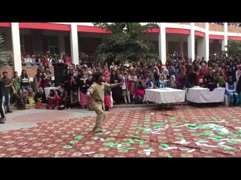 University of Lahore(UOL) || food festival || 2016 || punjabi dance || part 2