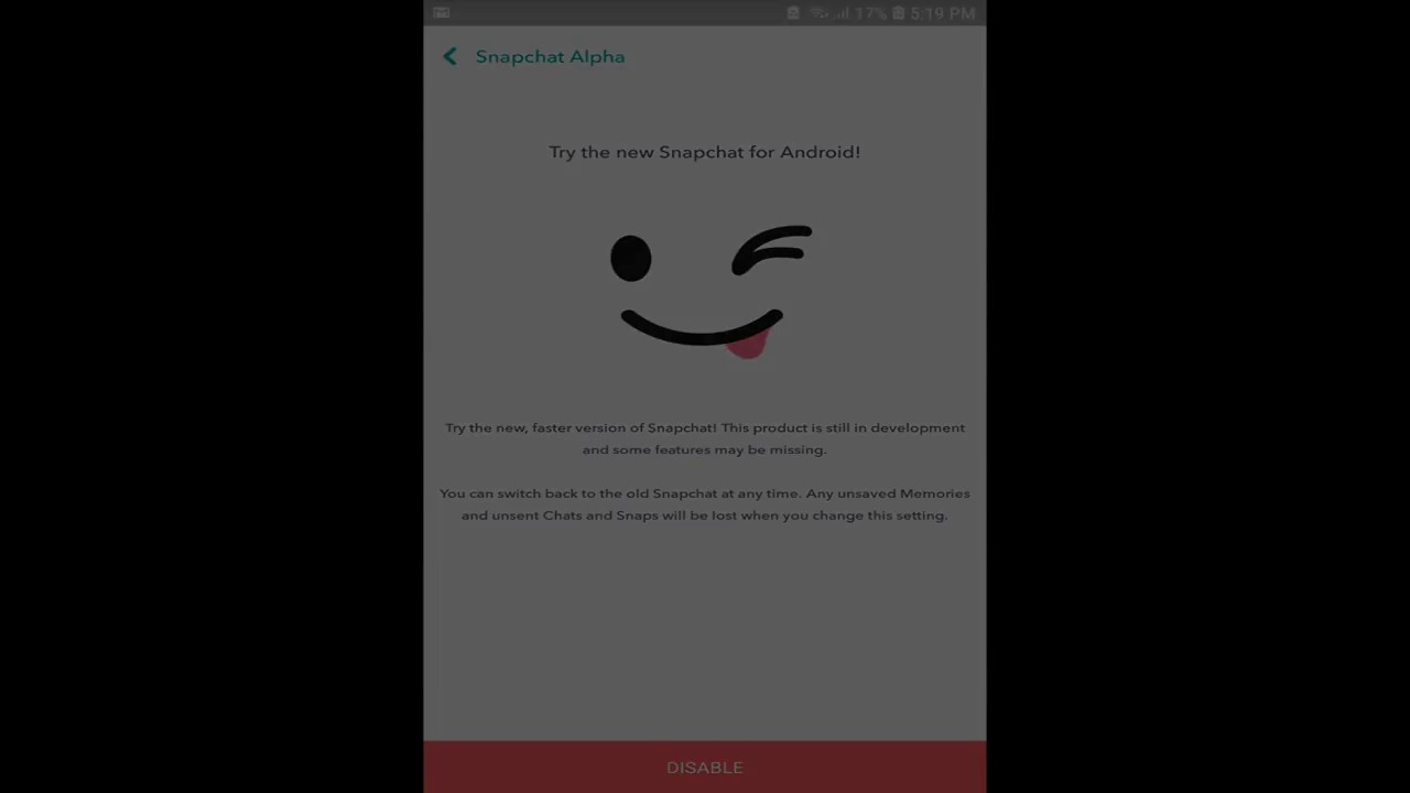 How to enable Snapchat Alpha without Root!
