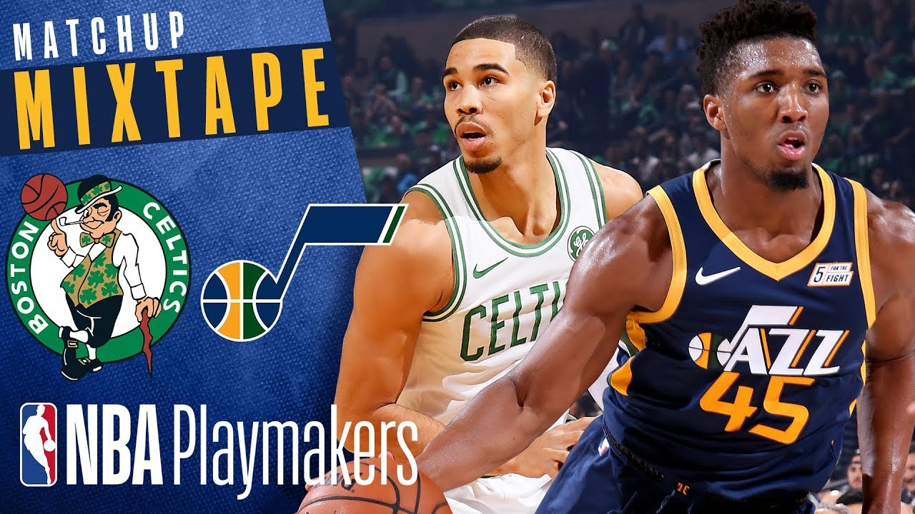 Boston Celtics Vs Utah Jazz Nba Mixtape Golden Hoops