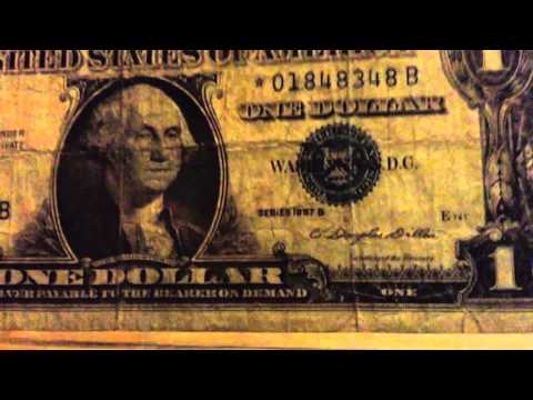 $1 SILVER CERTIFICATE STAR NOTE From 1957