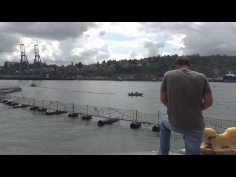 All Hands Update: Naval Station Everett Simulates Oil Spill Containment Drill | MiliSource
