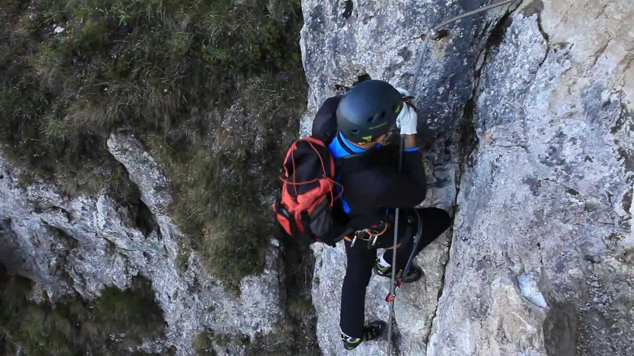 Klettersteig Walchsee : Ottenalm direttissima klettersteig youtube