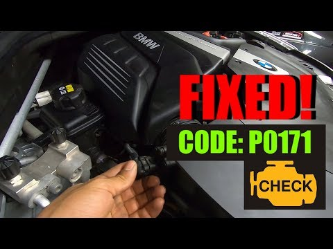 How To Fix Check Engine Light Code P0171 In a 2017 BMW X5!