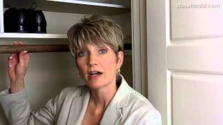 How To Get More Storage From Your Reach-in Closet | Clutter Video Tip