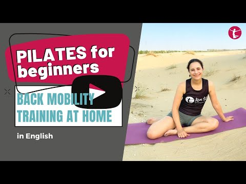 Pilates Back Mobility | Easy Pilates for Beginners 10 Minutes