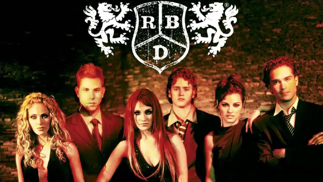 Letra de RBD