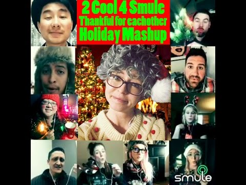 Smule  Christmas Mashup - Winter Wonderland / Don't Worry, Be Happy / Somewhere Over The Rainbow