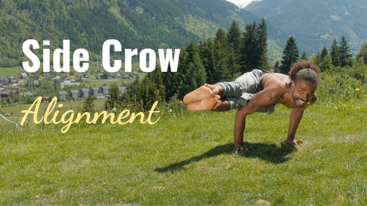 Side Crow Yoga Pose Take Arm Balances One Step Further   TINT Yoga