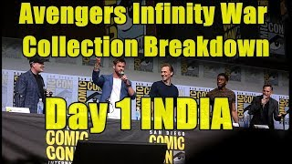 Avengers Infinity War Collection Breakdown Day 1 In India