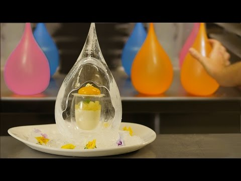 MAGICAL ICE DROP PANNA COTTA DESSERT RECIPE How To Cook That Ann Reardon