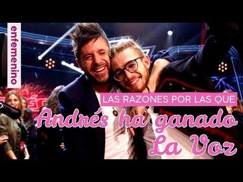 Las verdaderas razones por las que Andrés Martín ha ganado La Voz