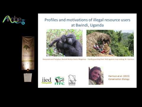 Sfécologie 2016 : Motivations and the illegal wildlife trade by Eleanor Milner-Gulland