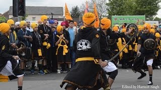 Akaal Sahai Gatka Akhaara, Southall (U.K.) at Slough Nagar Kirtan April 2014