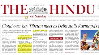 Download Video THE HINDU NEWSPAPER 09th December 2018 Complete Analysis MP3 3GP MP4