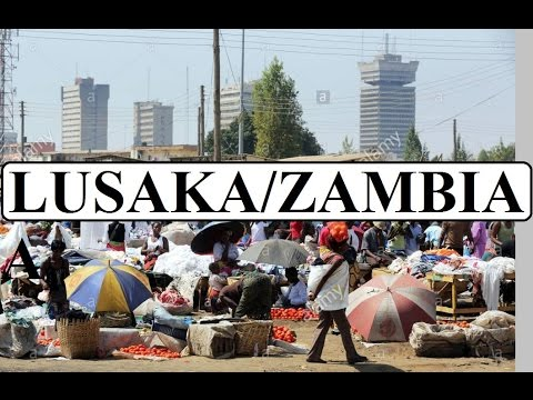Zambia/Lusaka/Africa ( People & Puplic markets) Part 2