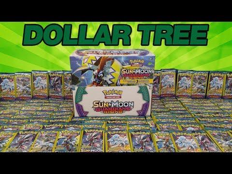 OPENING 200 PACKS OF GUARDIANS RISING DOLLAR TREE POKEMON CARDS!!