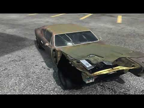 flatout 3 : derby 8 with replay with my car of bonecracker