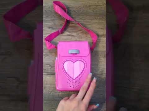 Lazytown Stephanie Pink Bag Fisher Price