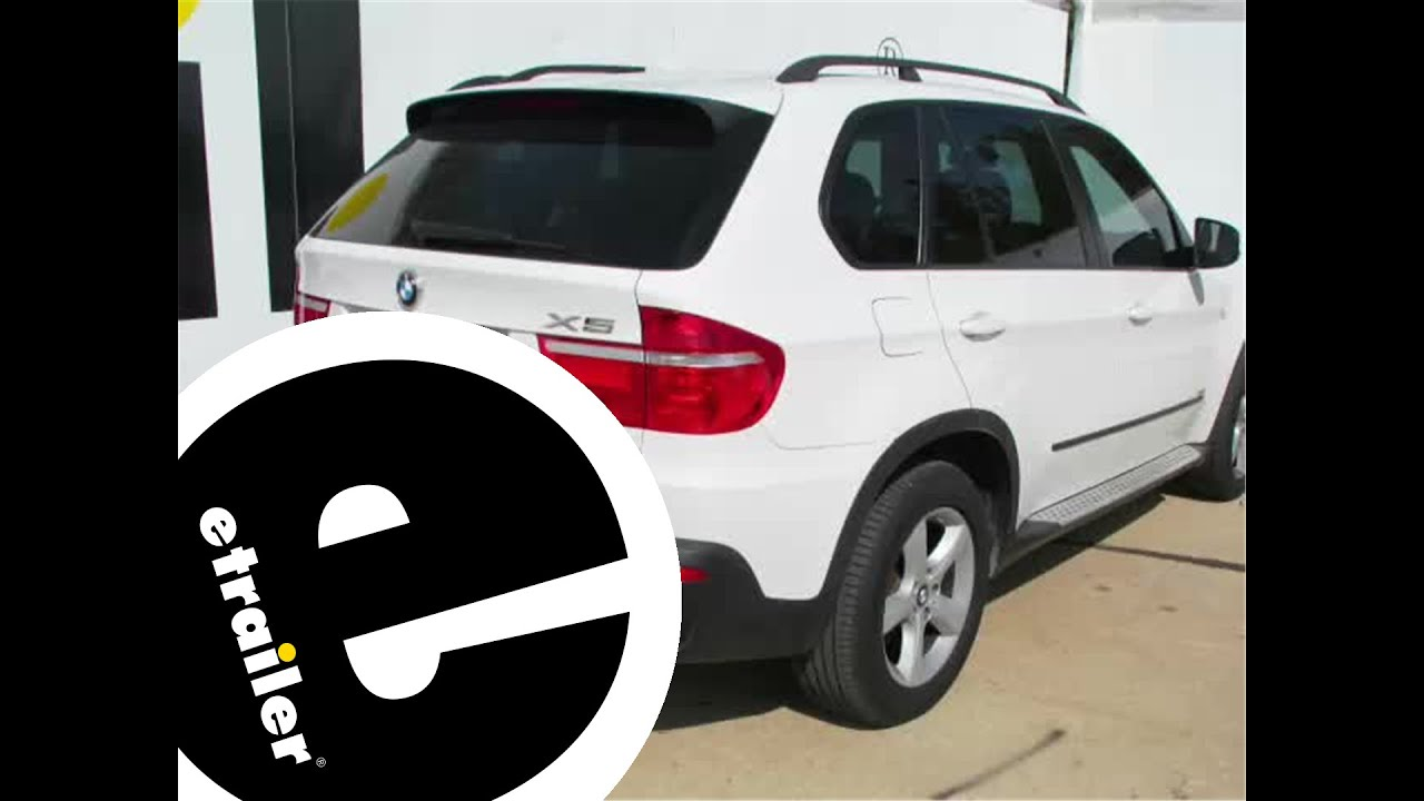 hight resolution of installation of a trailer hitch on a 2008 bmw x5 etrailer com
