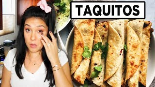 TAQUITOS MAKE ME CRY  (Hot For Food recipe)  | Tasty Tuesday