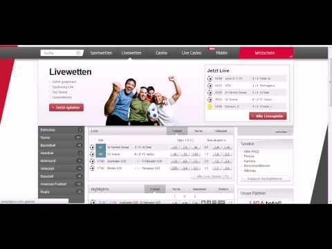 Video Tipico live wetten fussball