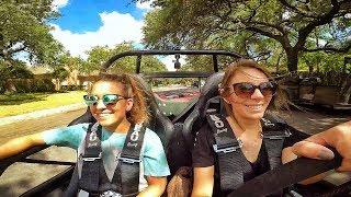 girls drive race car total hilarious fail