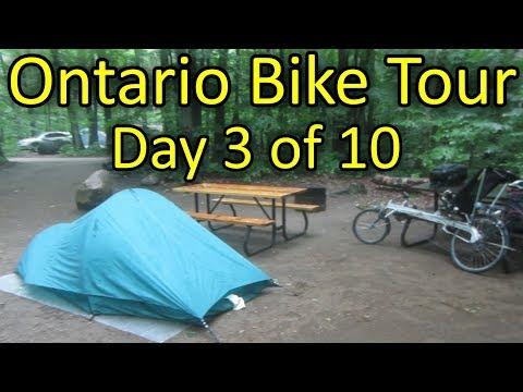 Beausoleil Island To Awenda Provincial Park - Ontario Bike Tour #2 - Day 3 Of 10