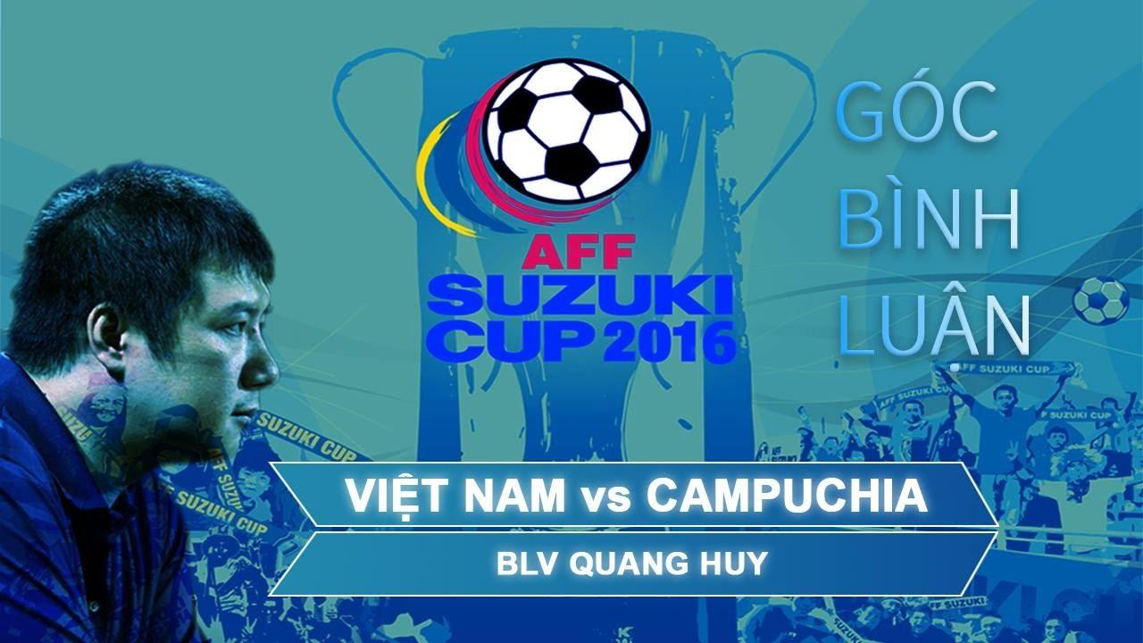 Việt Nam vs Campuchia: Người hùng Công Vinh   AFF  CUP 2016