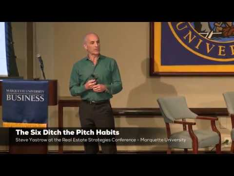 The Six Ditch The Pitch Habits