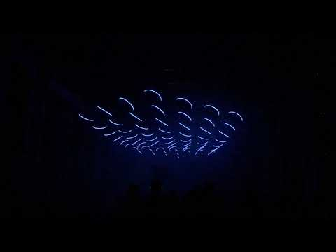 Best Techno and Light Performance - SKALAR @ Kraftwerk Berlin - Kinetic Sculpture