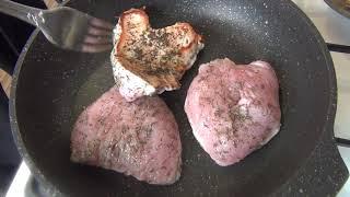 Как приготовить филе индейки🍖? Стейк из индейки!